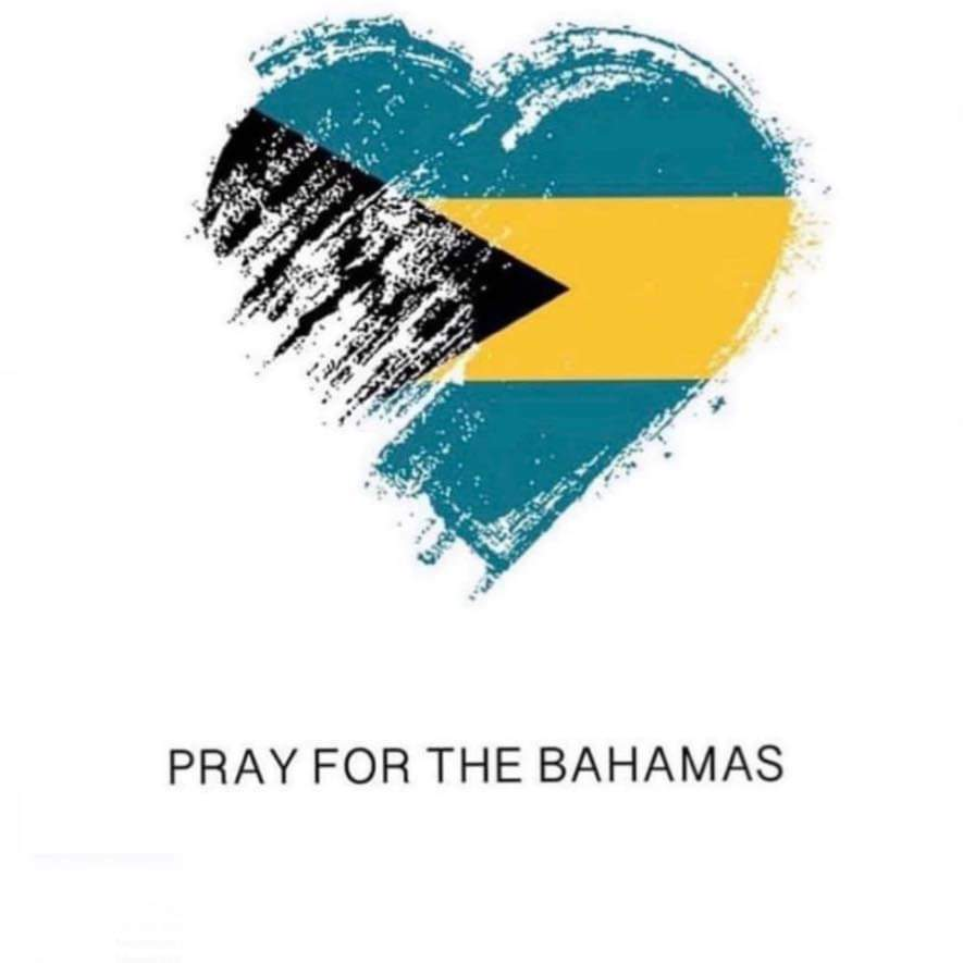 Pray for the Bahamas logo