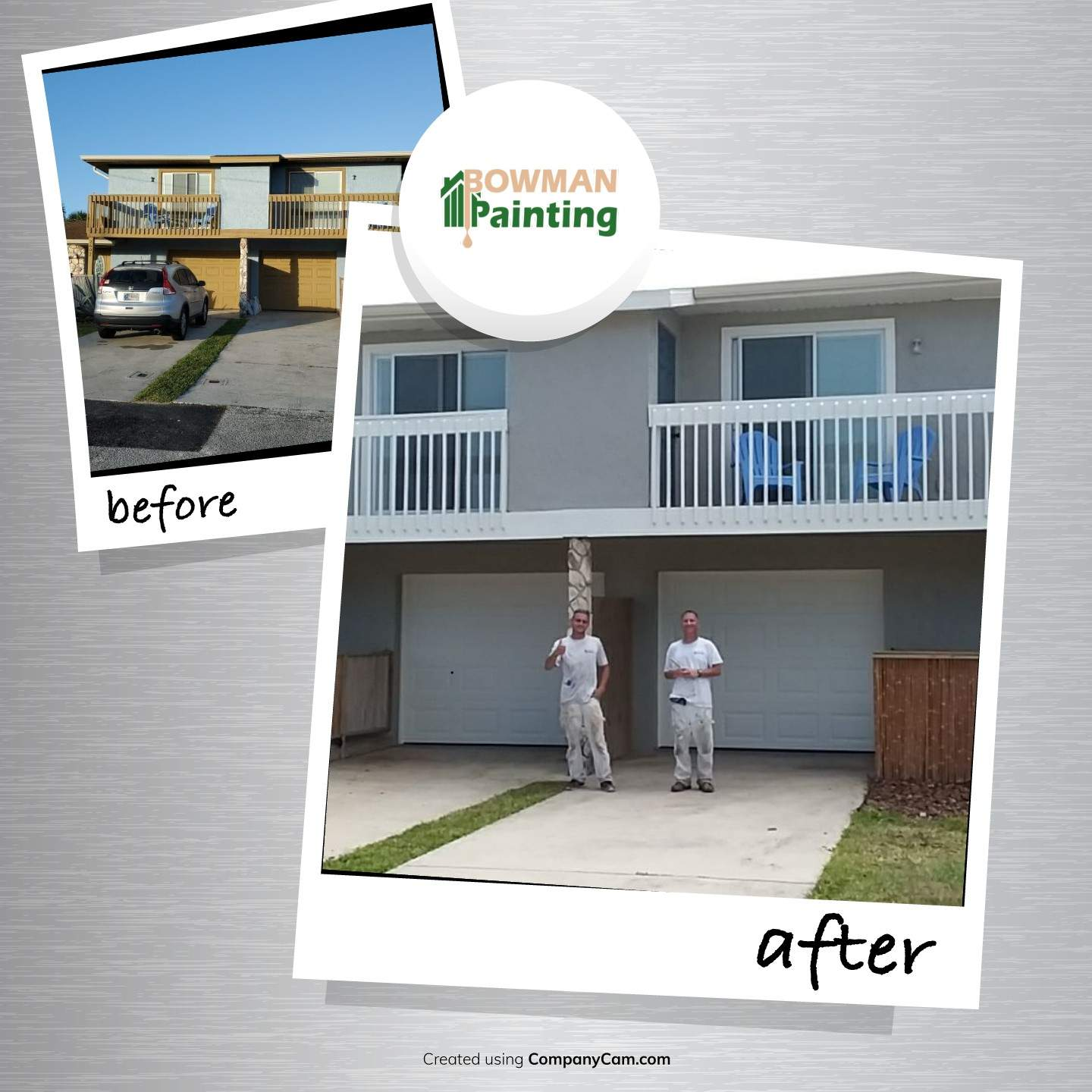 painting project before & after