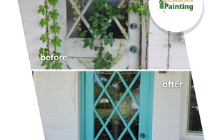 bowman painting before & after