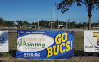 bowman painting ad sign